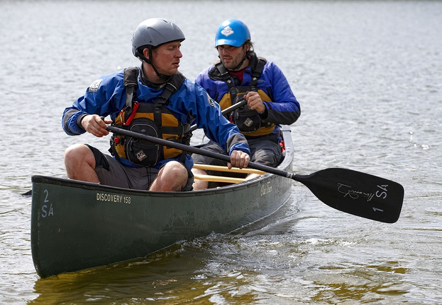 Instructors at Hetton Lyons Country Park