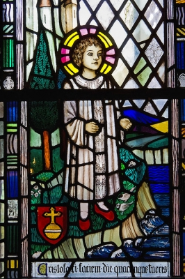 Stained glass, Church, Christianity