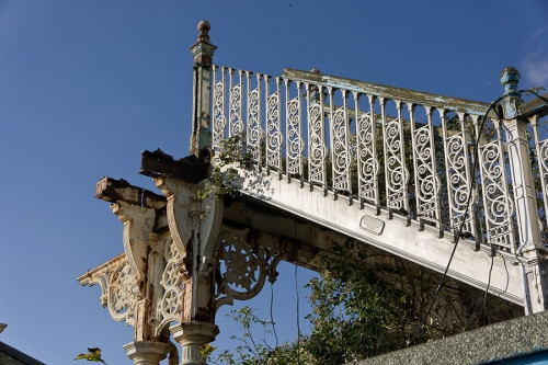 Llandudno Pier - detail - wrought iron