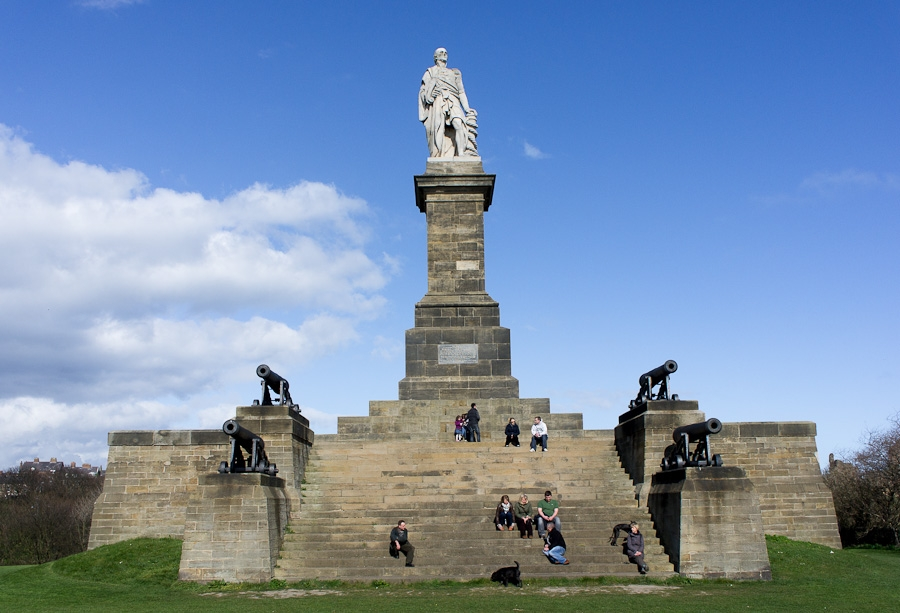 Admiral Lord Collingwood's monument, Tynemouth