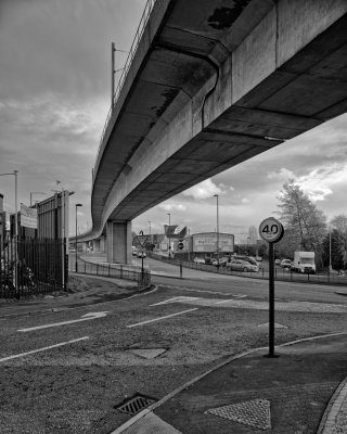 Metro Bridge over Shields Road