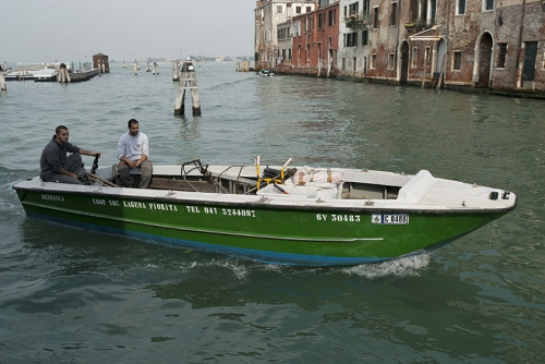 At work in Venice